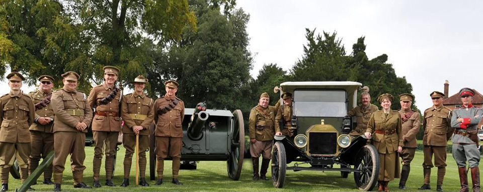 WW1 teacin at one of the UK's top schools. RA 16ib gun Ford madel T ambulance